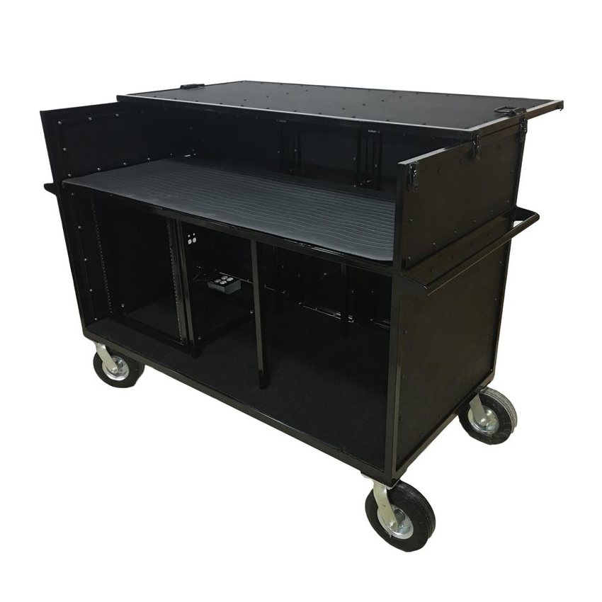 Marching Band Carts - Percussion Electronics Synth Cart